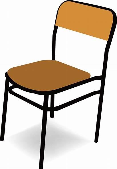 Chair Clipart Empty Classroom Transparent Clip Desk
