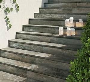 Revetement Escalier Exterieur : carrelage ext rieur imitation bois un art italien ~ Premium-room.com Idées de Décoration