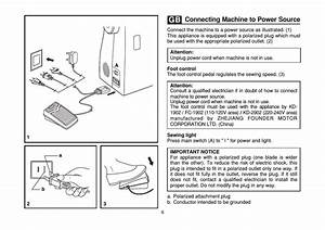 Connecting Machine To Power Source