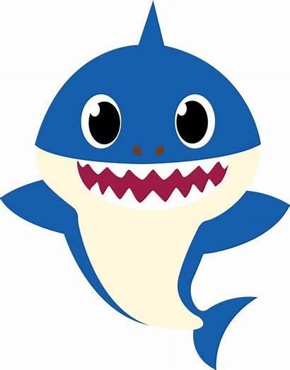 Shark Daddy Svg Mommy Transparent Cartoon Clipart