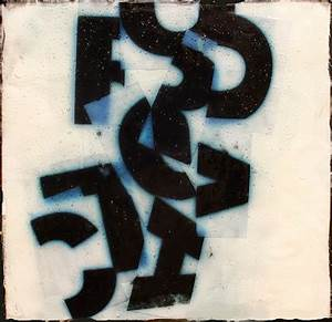 carol nelson fine art blog quotfractured lettersquot acrylic With abstract letter art