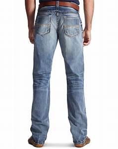 Ariat Menu0026#39;s M4 Low Rise Boot Cut Jeans - Durango