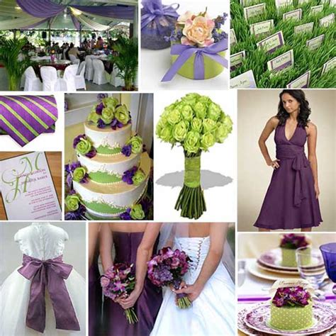 wedding theme purple and green wedding colours purple and green primadonna
