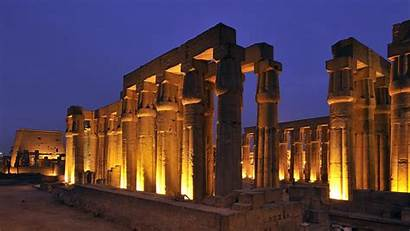 Luxor Wallpapers Temple Night Cave