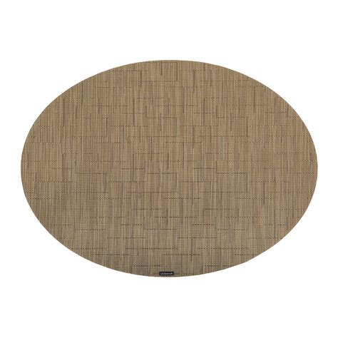 oval placemats buy chilewich bamboo oval placemat amber amara
