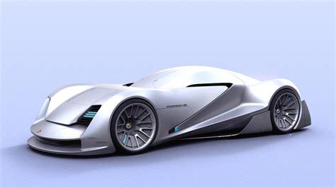 porsche concept futuristic porsche sports car concept is targeted at fans