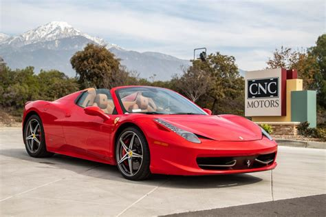 Used 458 Spider by 2014 Used 458 Spider At Cnc Motors Inc Serving