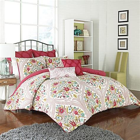 Vue™ Paris Reversible Comforter Set  Bed Bath & Beyond