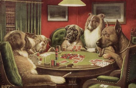 15 Things You Should Know About 'dogs Playing Poker