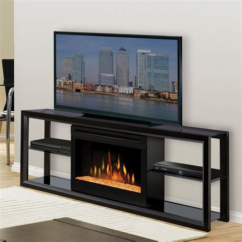 electric fireplace tv stand costco contemporary electric fireplace media center fireplace