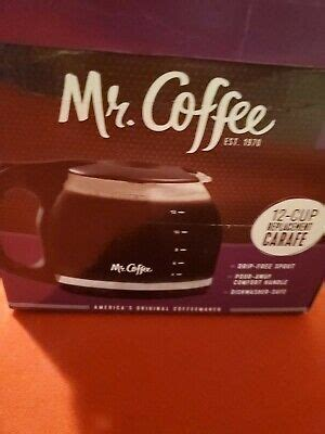 Does the machine brew perfect coffee if i make 4 cups of coffee? Mr. Coffee 12-Cup Coffee Carafe Pot - Black Handle/Lid MC1 72179226925 | eBay