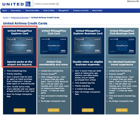 running  miles credit cards   united