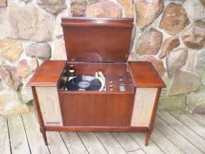 mid century stereo ge hi fi stereo tube amplifier am fm record player general
