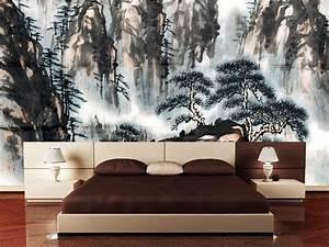 Poster Xxl Designer : asiatische m bel f r effektvolle einrichtung innendesign m bel zenideen ~ Orissabook.com Haus und Dekorationen