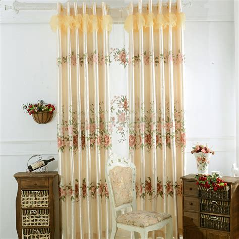 Custom Made Curtains And Drapes by Yellow Custom Made Drapes And Curtains Of Embroidery