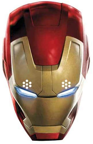 iron man avengers age  ultron card face mask