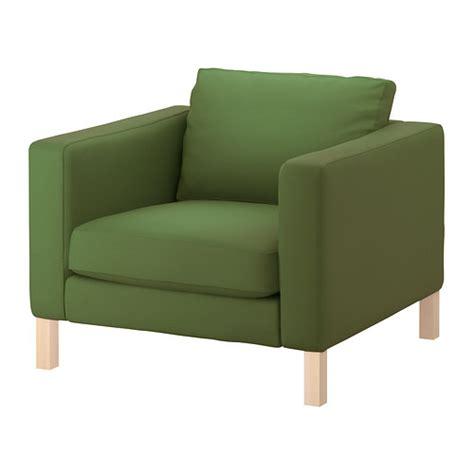 karlstad chair cover sivik gray fabric armchairs ikea