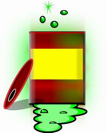 Toxic Clipart Barrel Waste Hazardous Chemical Clip