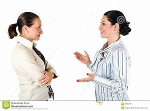 Business Woman Conversation Stock Images - Image: 9295264