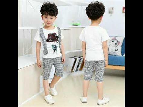 style baju anak laki laki ala korea keren modern terbaru