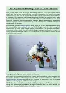 7 best ways to protect wedding flowers or any floral bouquet for Best way to share wedding photos