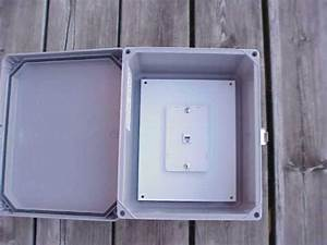 Outdoor Phone System - Waterproof Telephone Cabinet Call Box Weatherproof