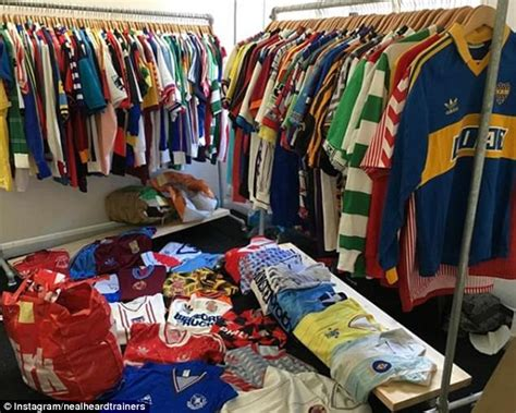 The Football Shirts Book The Connoisseur S Guide Neal Heard Hangs With The Cool Kits Daily Mail