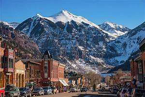 Downtown Telluride Photograph by Darren White
