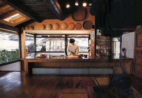 traditional japanese kitchen design somewhat modernized kitchen in traditional japanese rural 6328