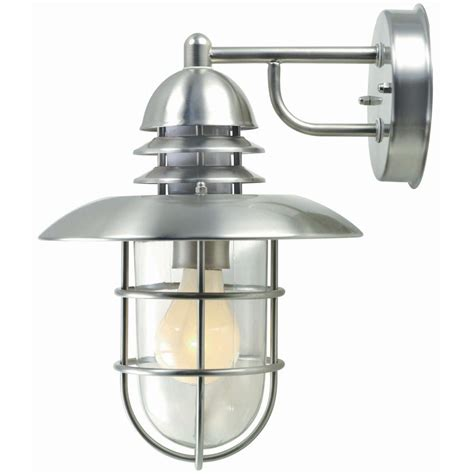 ls sconces paint illumine 1 light outdoor stainless steel wall l cli