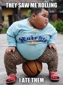 Fat Chinese Boy Meme - fat meme they see me rolling lol funny meme chubby asian boy adult content pinterest
