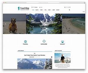 5 best wordpress blog themes for corporate personal With wordpress create blog page template