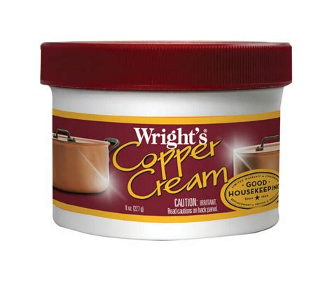wrights mild scent copper cleaner  oz cream case pack    ebay