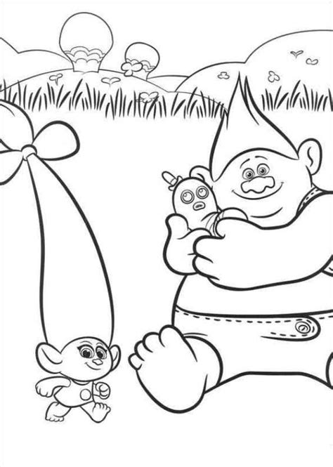kids  funcom  coloring pages  trolls