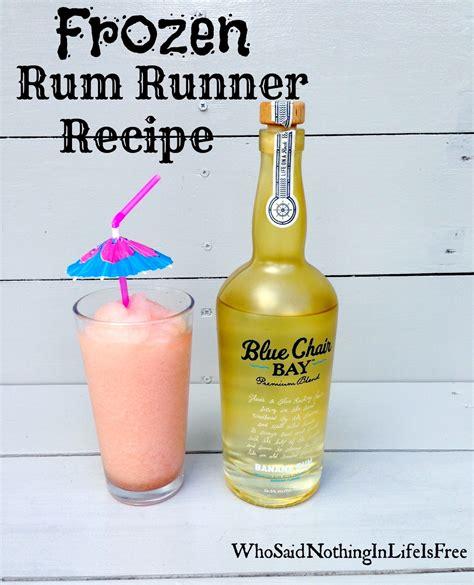 frozen rum runner recipe w blue chair bay banana rum