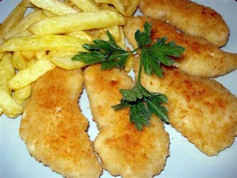 cuisiner des aiguillettes de poulet recette d aiguillettes de poulet en panure de parmesan
