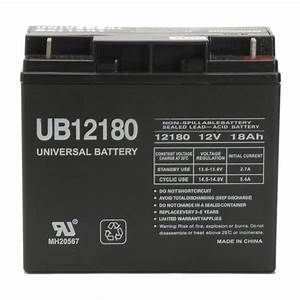 Upg 12v 18ah New Sealed Agm Battery For Yardworks Electric