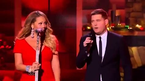 Michael Buble & Mariah Carey  All I Want For Christmas Is