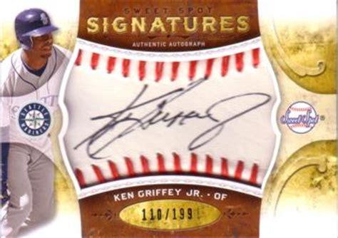 ken griffey jr autograph baseball card