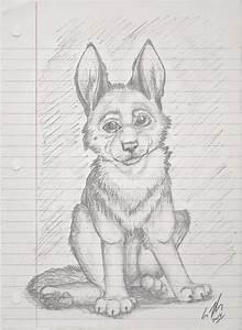 German Shepherd Puppy By Sapphiretigress On Deviantart