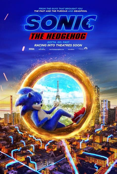 sonic  hedgehog film release pushed    year