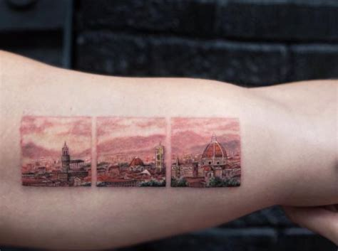 landscape tattoos inspired   wonderful nature