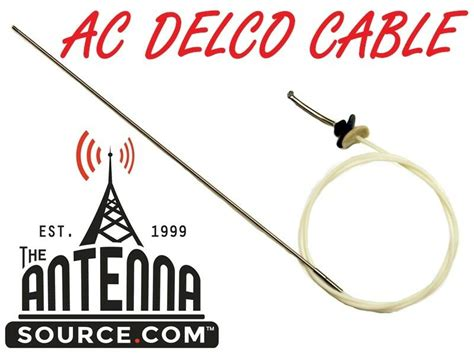 Cadillac Fleetwood Power Antenna Mast Cable New Delco Ebay