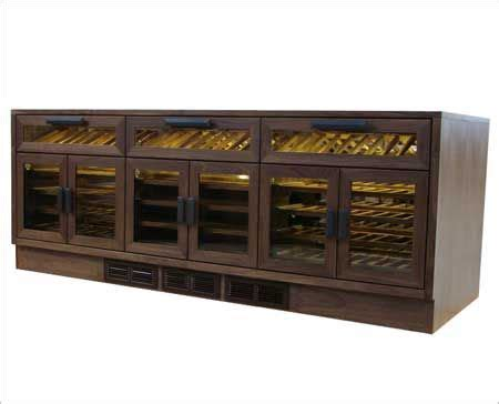 Trilogy Wine Credenza - custom refrigerated wine credenza for a hotel in gujarat