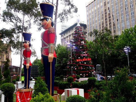 city  melbourne christmas festival  melbourne