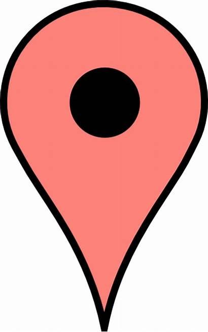 Google Maps Map Clipart Clip Cliparts Clker