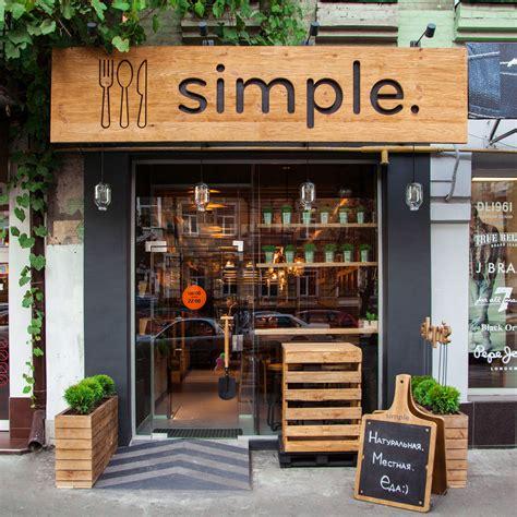 cuisine shop designing a modern fast food restaurant design