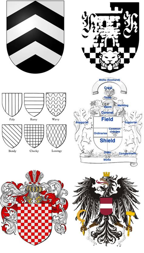 design a family crest early graphic design the european coat of arms core77