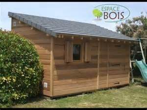 Lames Bois Pour Abri De Jardin by Abris De Jardin En Bois Youtube
