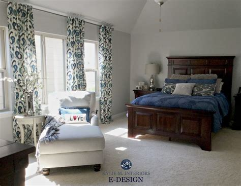 sherwin williams repose gray master bedroom  dark